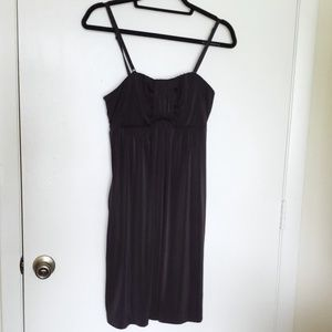 Soma Strapless dress w/Pockets
